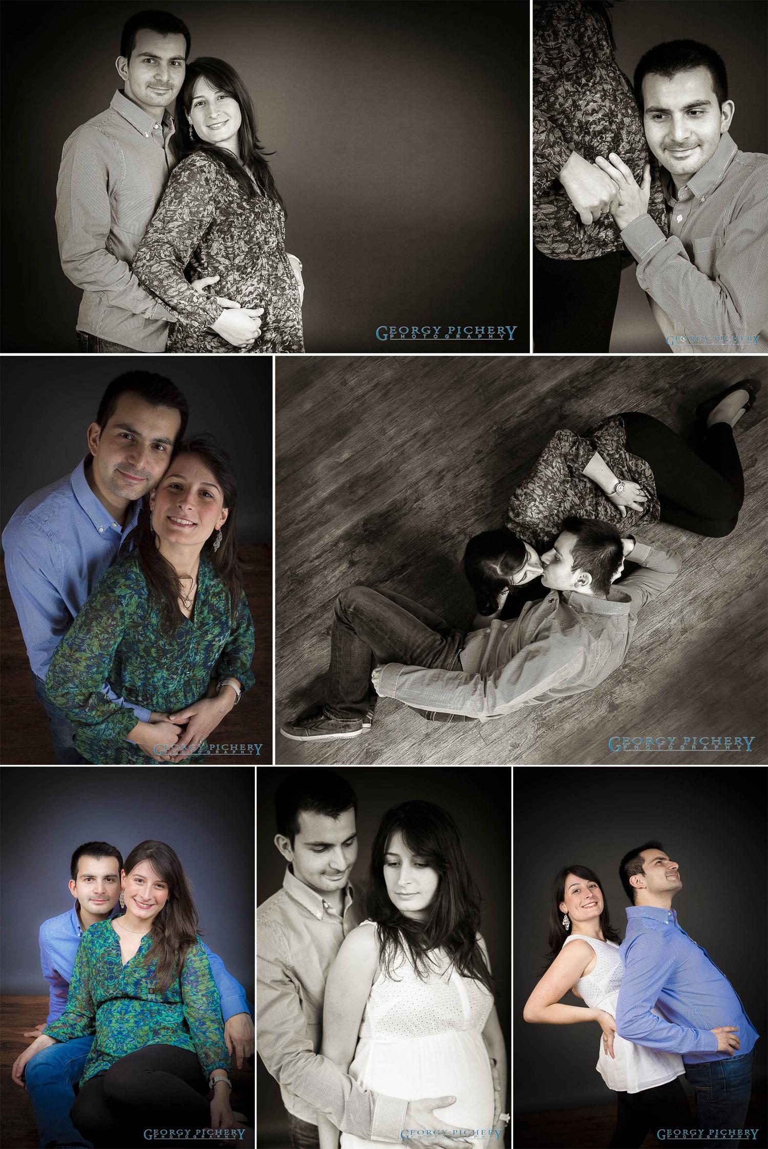 séance couple et grossesse
