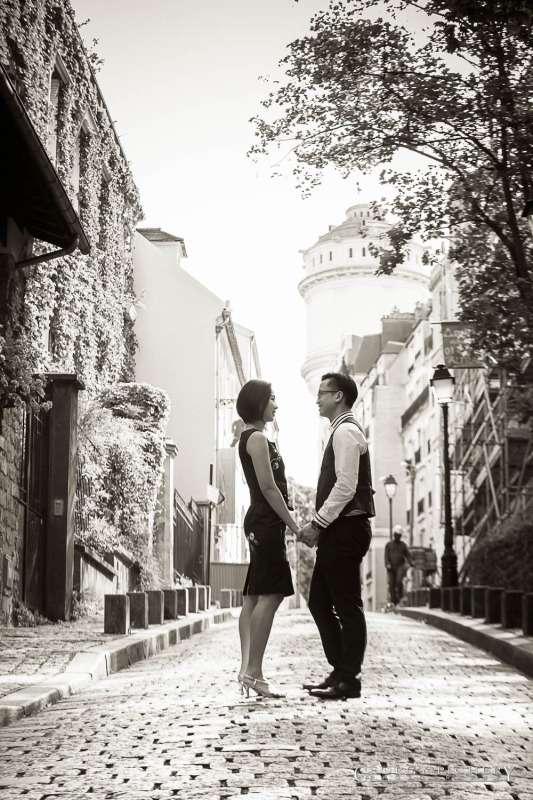 couple a Montmartre